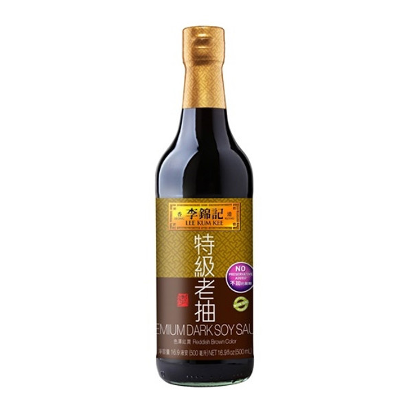 Lee Kum Kee (LKK) Premium Dark Soy Sauce Glass Bottle