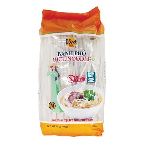 Viet Way Pho Rice Noodle size Medium Banh Pho