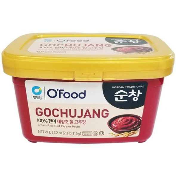 Chungjungone Sunchang Brown Rice Red Pepper Paste (Gochujang)