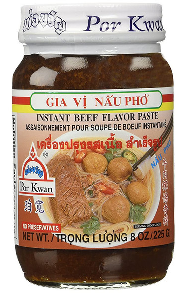 Porkwan Por kwan Instant Beef Flavor for Vietnamese Soup Pho