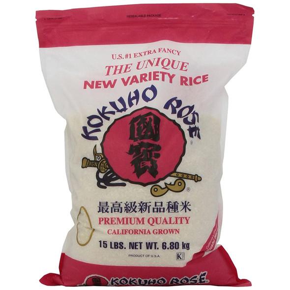 Kokuho Rose Rice, 15 lb