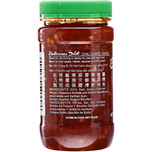 Huyfong Chili Garlic Sauce, 8oz
