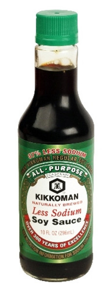 Kikkoman Green Cap Lite Light Soy Sauce Less Sodium