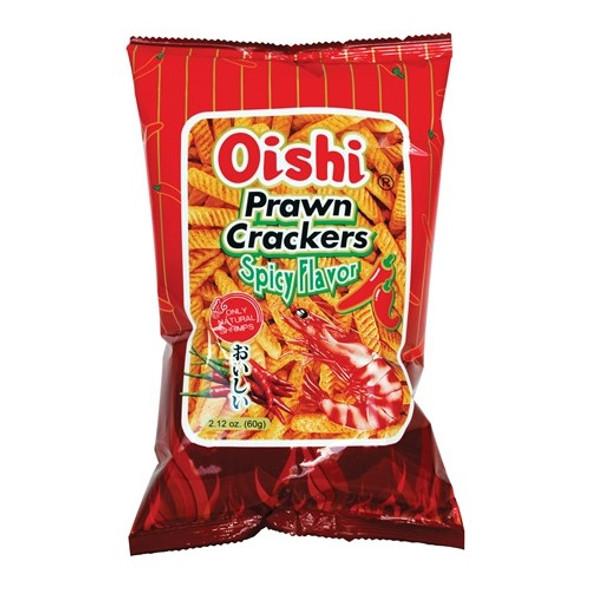 Oishi Prawn Cracker Spicy Flavor