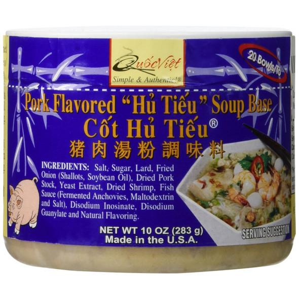 Quoc Viet Pork Flavored Cot Hu Tieu Soup Base 10oz
