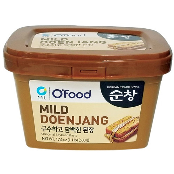Chungjungone Ofood Mild Doenjang Soybean Paste 1.1lb