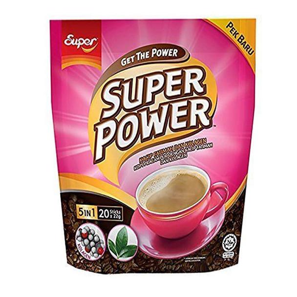 Super Power 5in1 Instant Collagen Coffee, 20 Sticks - Wynmarket