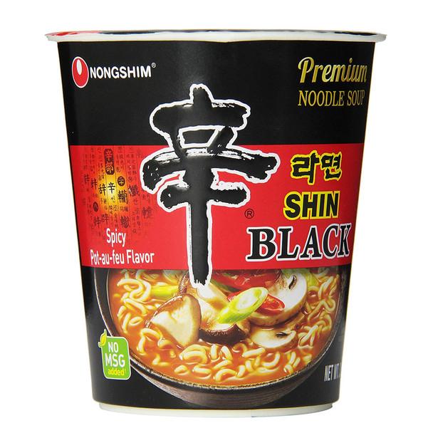Nongshim Shin Black Instant Ramen Noodle Cup