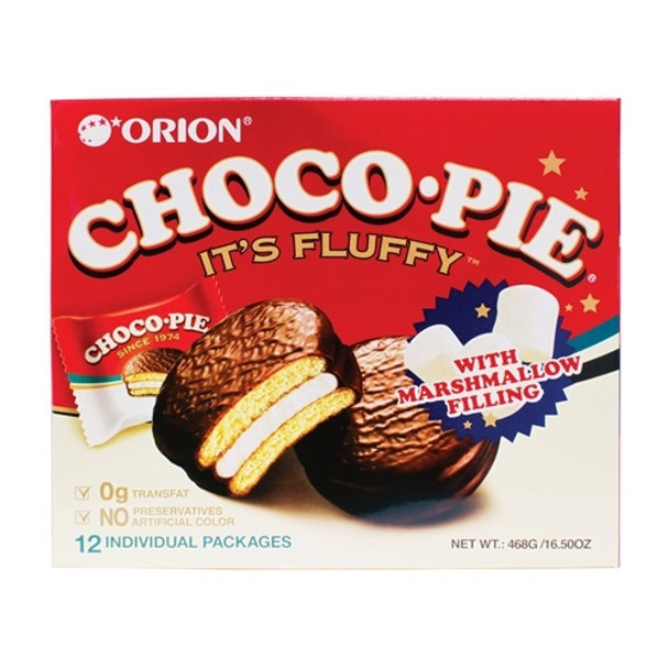Orion Choco Pie Marshmallow Filling Snacks
