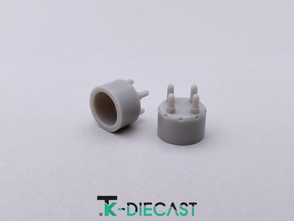 Lug Nut Hub Adapter 4 Bolt