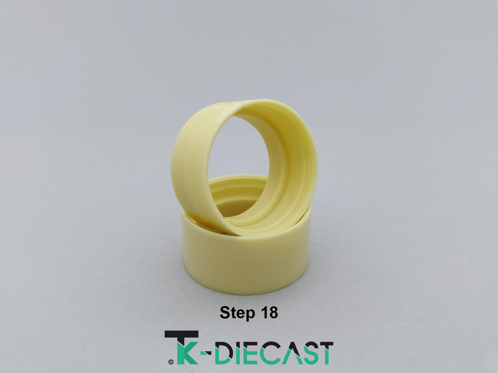 "20"" Universal Wheel rings step dish"