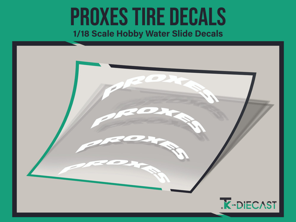 Tire Decal 11 (Proxes)