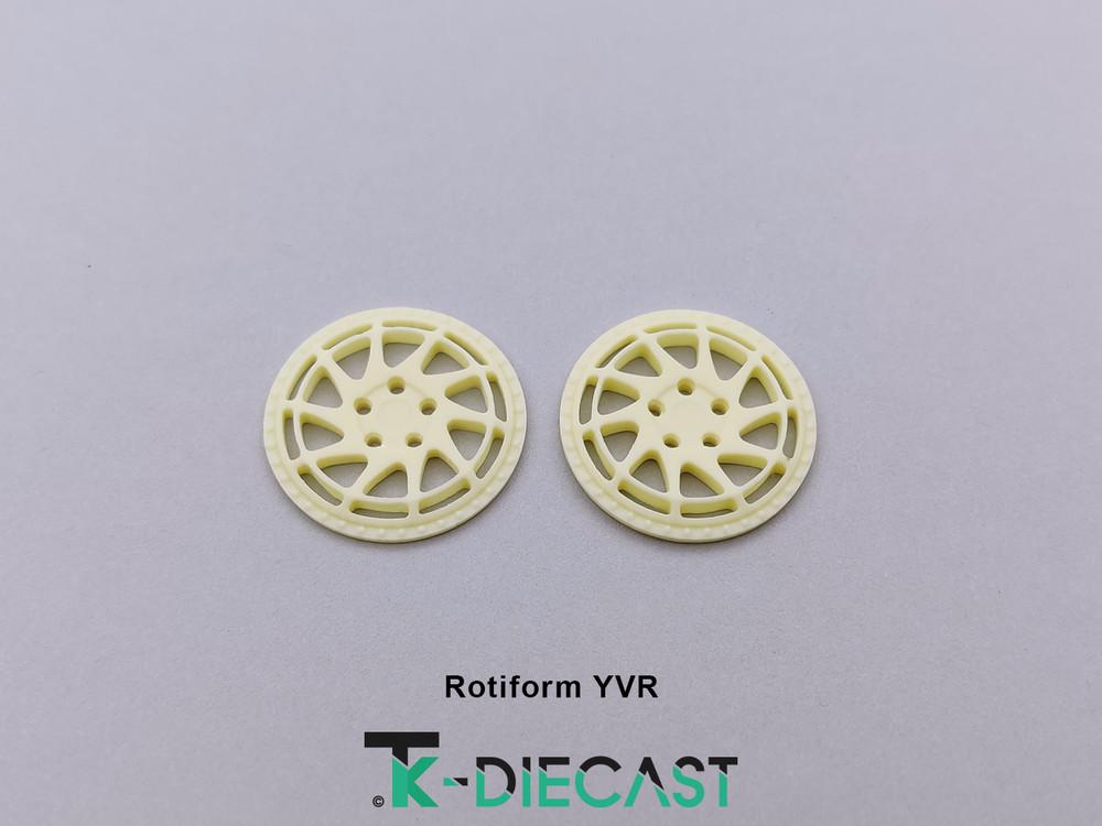 """18"""" Rotifrom YVR 3 Piece Insert"""