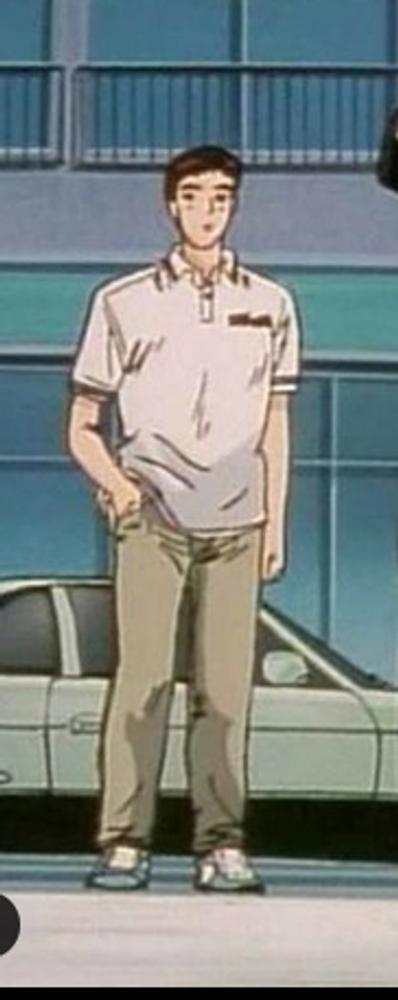 Figurine Initial D Koichiro Iketani 1:18