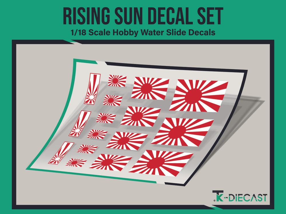 Rising Sun Decal Set
