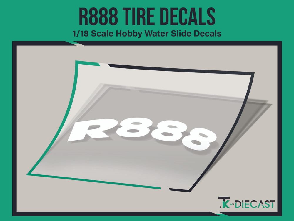 Tire Decal 12 (R888)