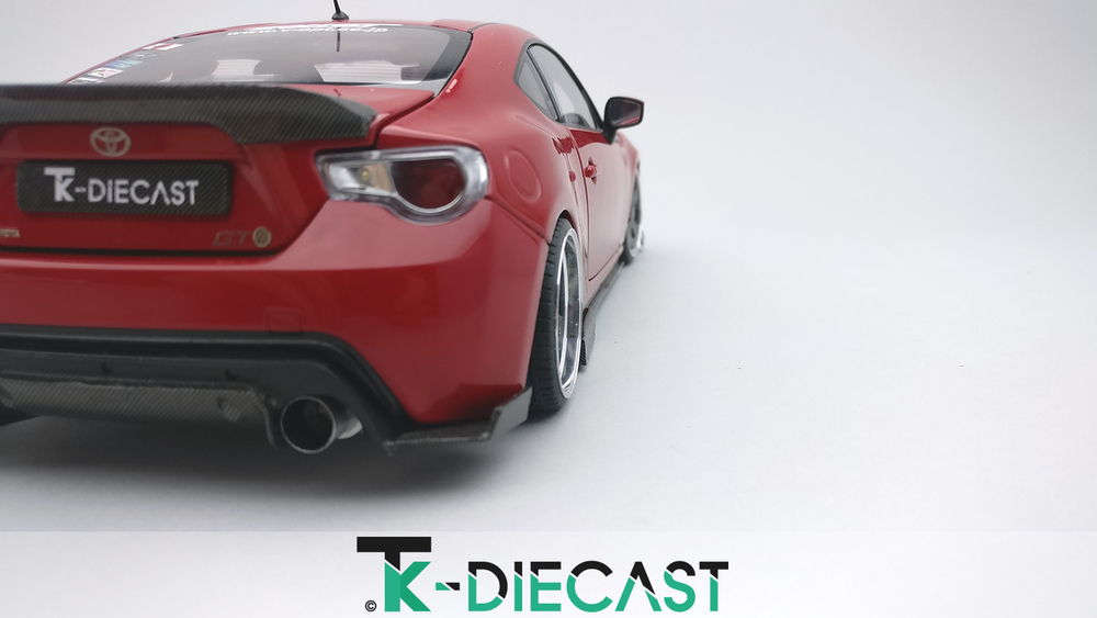 Toyota GT86RB Wide Body Diffusor