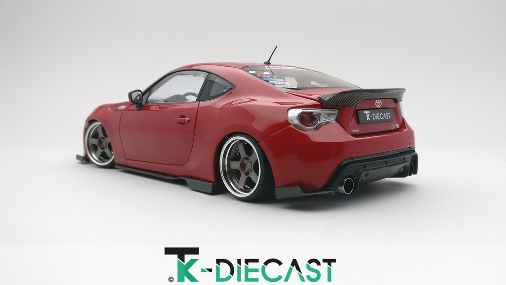 Toyota GT86 RB Wide Body Side skirts