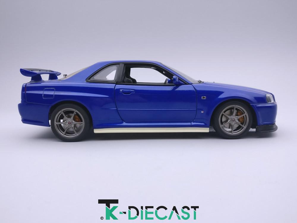 Nissan R34 GT-R Skyline Nismo Side Skirts S-Tune R-Tune Z-Tune