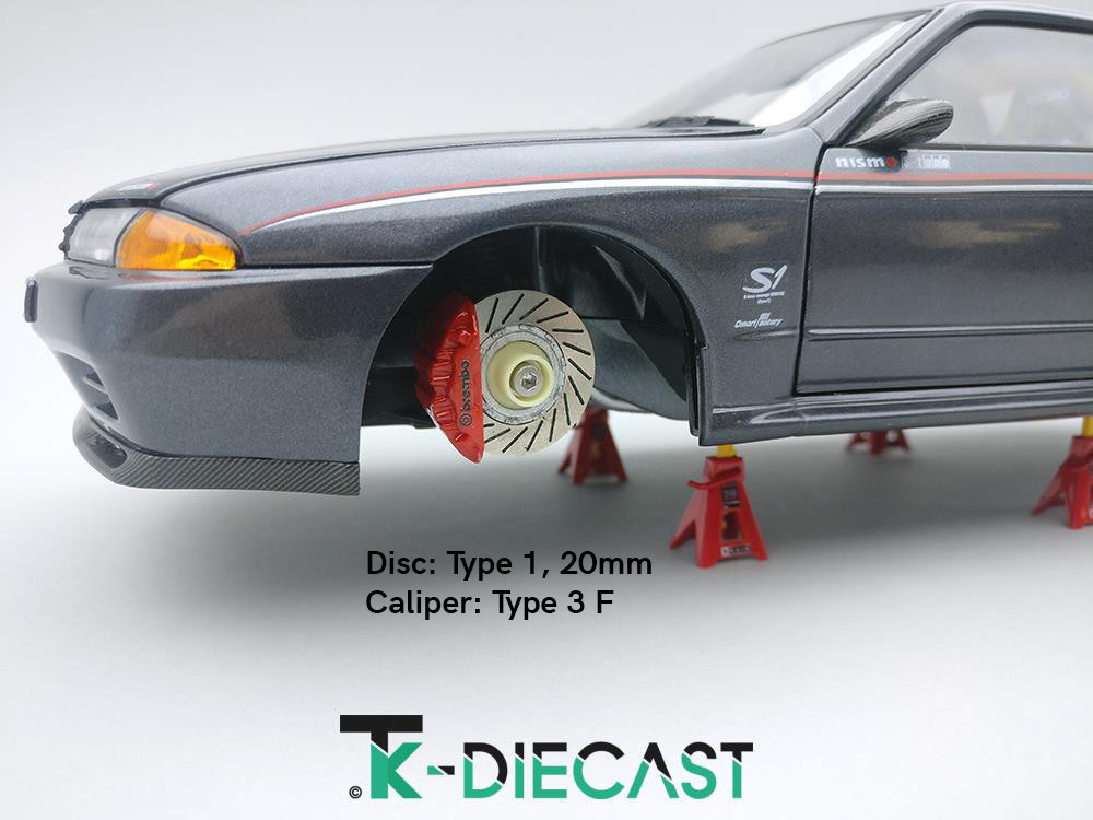 Brake Disc And Caliper Examples