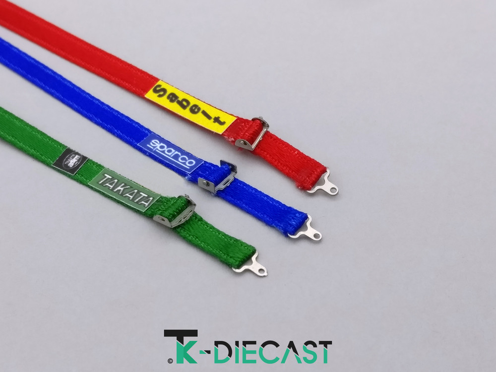 Racing Seat Harness Sticker Set