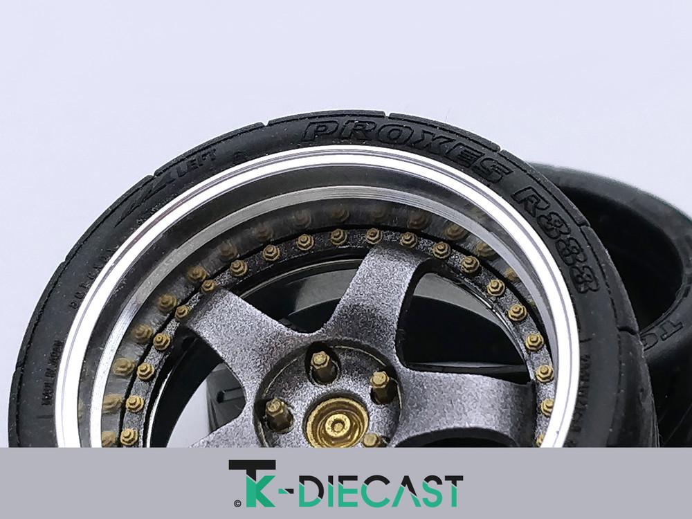 Detailing Bolt - Ø0,70mm nut on washer