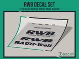 Porsche RWB Decal Set