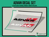 Advan Decal Set