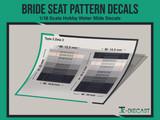 Cotton Bride Seat Pattern
