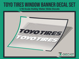 Toyo Tires Window Banner Decal Set