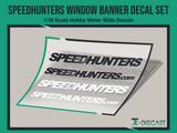 Speedhunters Window Banner Decal Set