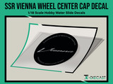 SSR Vienna Wheel Center Cap Decal Set