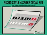 Nismo Style 4 Spoke Decal Set