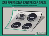 SSR Speed Star Center Cap Decal