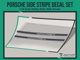 Porsche Side Stripe Decal Set