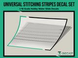 Universal Stitching Stripes Decal Set