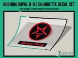 Hoshino Impul D-01 Silhouette Decal Set