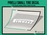 Tire Decal 09 (P) Set 4 Small