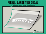 Tire Decal 10 (P) Set 4 Large