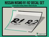 Nissan Nismo R1 / R2 Decal Set