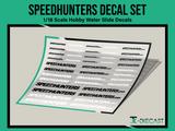 Speedhunters Decal Set