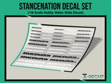 Stancenation Decal Set