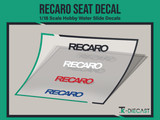 Recaro Seat Decal