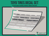 Toyo Tires Decal Set