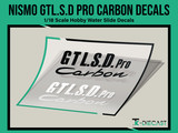 Nismo GTL.S.D Pro Carbon Decal Set