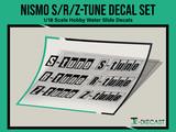 Nismo S-Tune R-Tune Z-Tune Decal Set