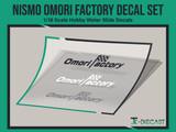 Nismo Omori Factory Decal Set