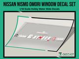 Nissan Nismo Omori Factory Rear Window Decal Set