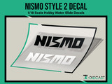 Nismo Style 2 Decal