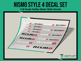 Nismo Style 4 Decal Set